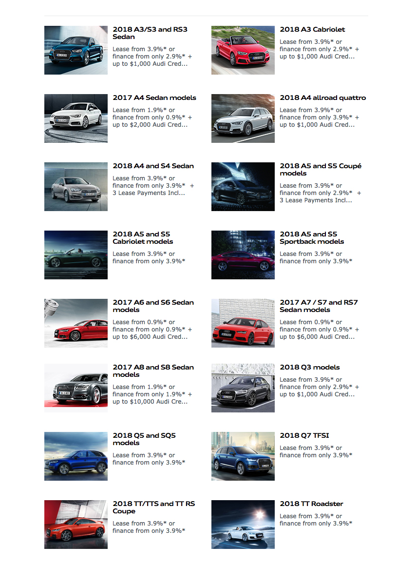 Audiincentivesseptemberspecialspage Bramgate Automotive - Audi incentives
